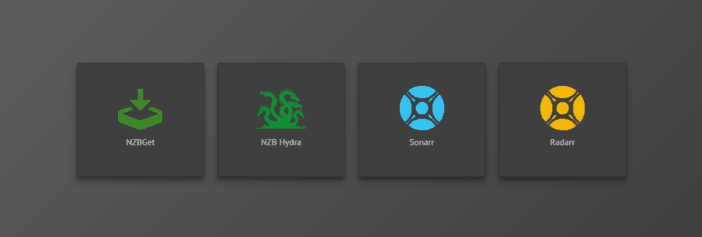 Newsgroups - NZBGet, NZBHydra, Sonarr et Radarr - Ubuntu